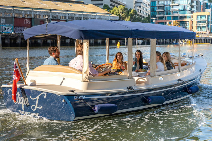 hire self drive boats yarra river