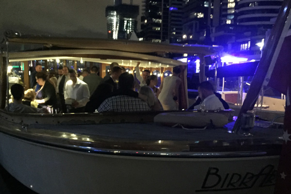 boats for wedding ceremonies, yarra river melbourne