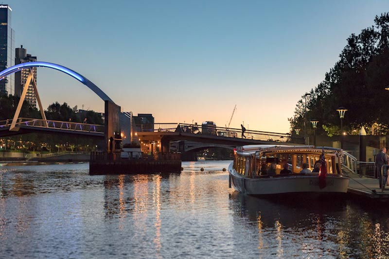 elegant yacht for yarra river cruises melbourne