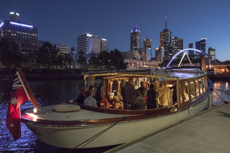stunning private boats for luxurious river trips in Melbourne