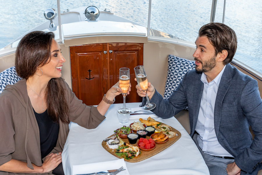 yarra river cruise with romantic dinner onboard
