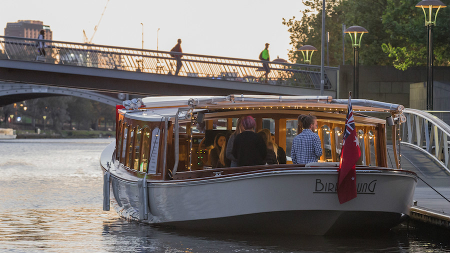 boat hire for eofy parties melbourne