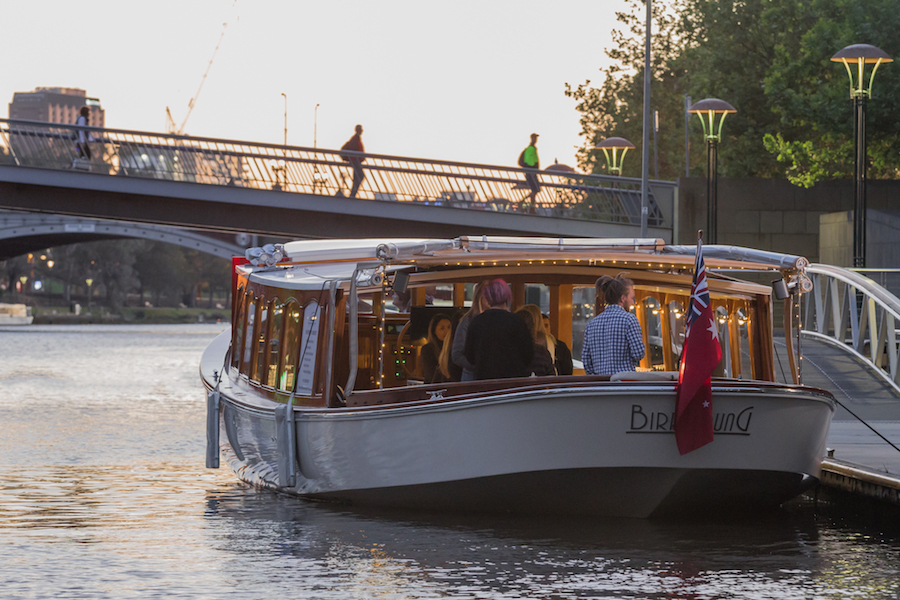 boat cruises along yarra river southbank