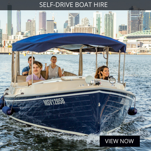 self drive boat hire melbourne