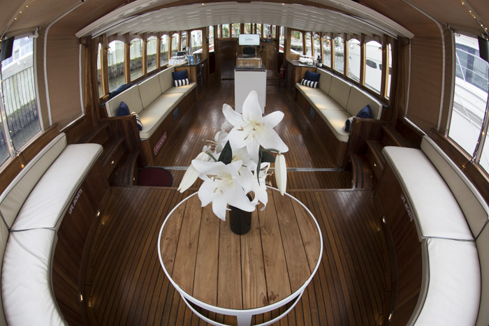 private luxury yacht for boutique weddings