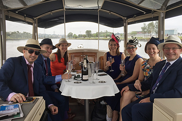 private water taxi to the Melbourne cup