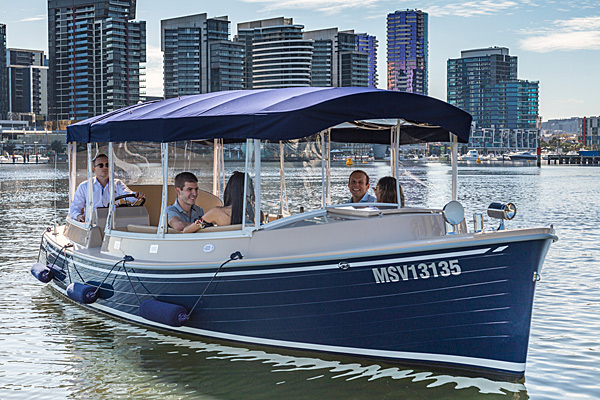 catch a boat to the spring racing carnival at flemington