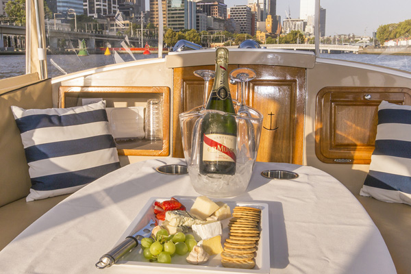 ask your beloved to get married- take a private skippered cruise in Melbourne