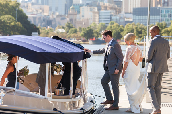 Boats For Wedding Transfers To Docklands Southbank Williamstown And Leonda On Melbourne S