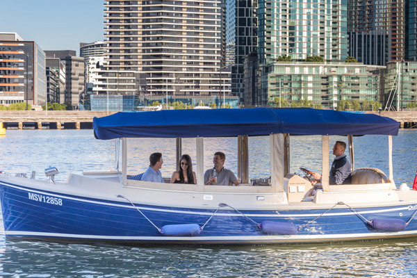 take a skippered cruise on the Yarra River Melbourne